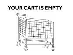 Shopping Cart is Empty